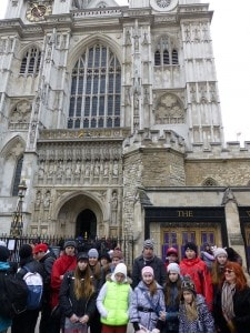 Мы у Westminster Abbey